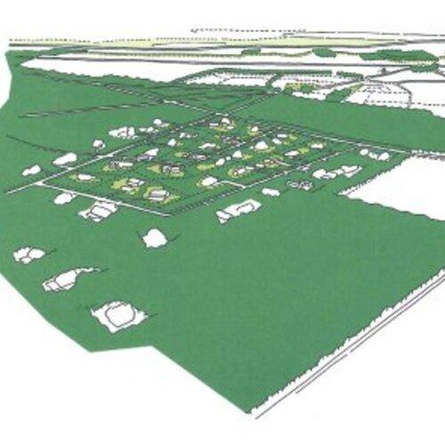 Nieuw bos en woningbouw