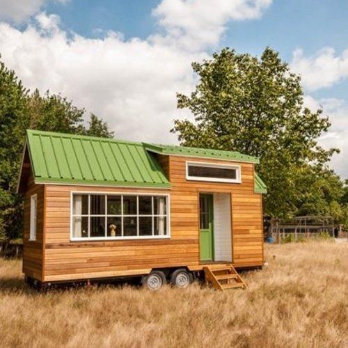 Testlab nieuw bos en tiny houses
